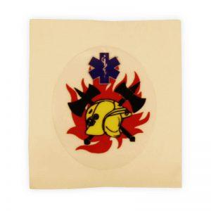 brandweer stickers