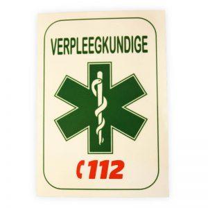 sticker verpleegkundige