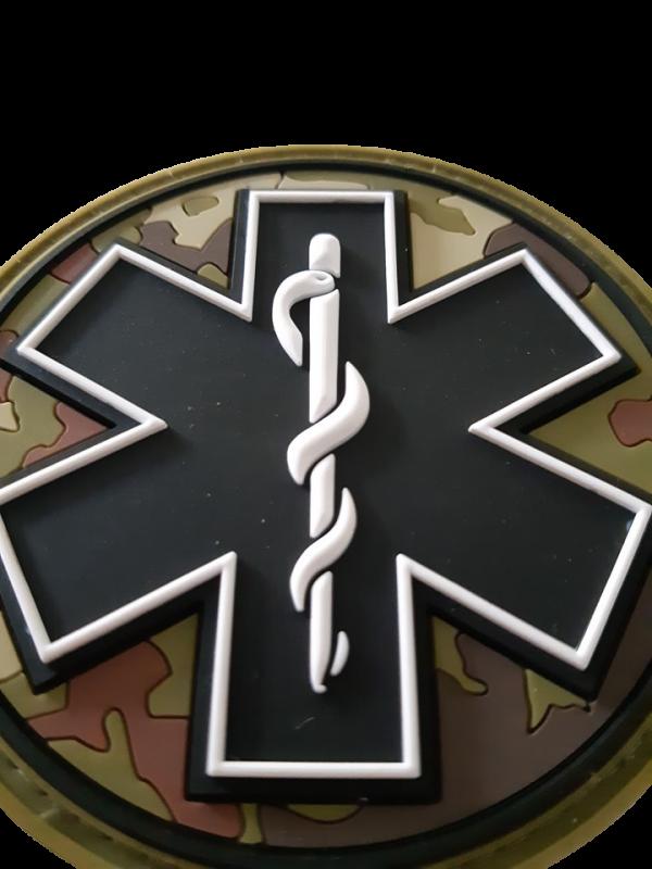 Star of life badge militair