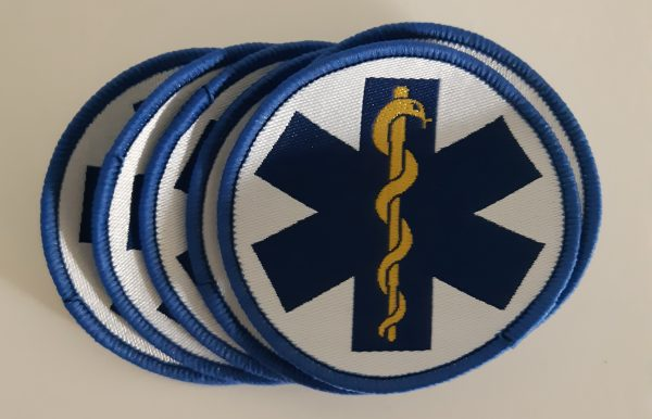 blauwe patch Star of Life