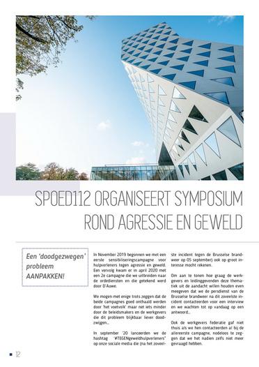 SPOEDmagazine - Publicatiejaar 2020