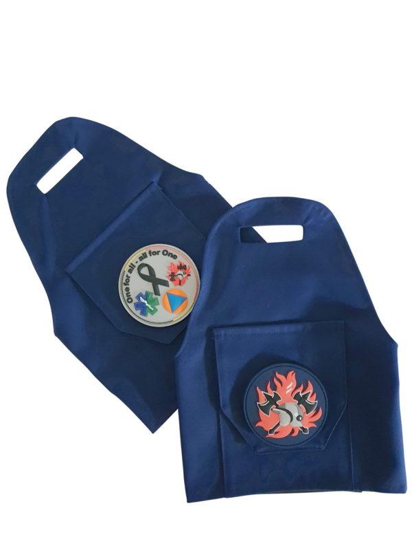 Epauletten pennenhouder (schouder/bovenarm)