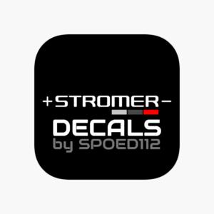 STROMER bike DECALS