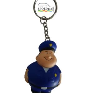 politie sleutelhanger