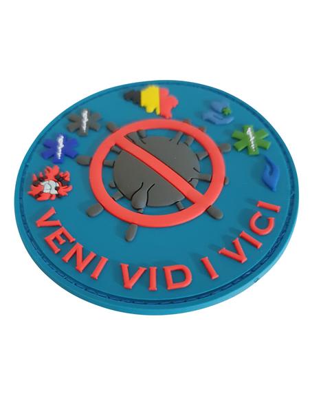 3D PVC patch 'VENI VIDI VICI'