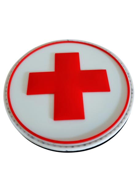 patch met rode kruis