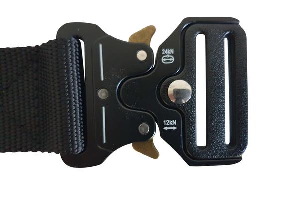Interventieriem 'Militair COBRA' met sleutelhanger clip