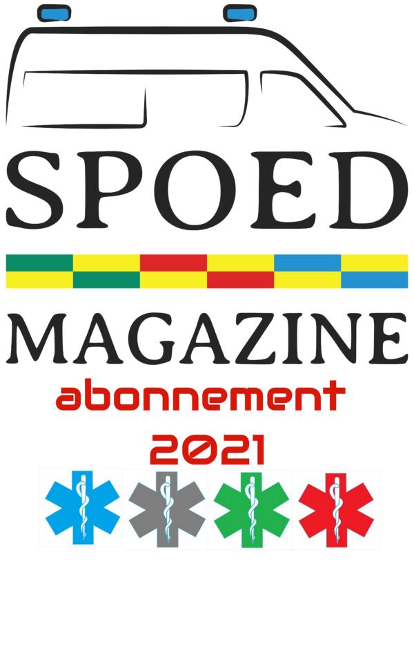 SPOEDmagazine – Publicatiejaar 2021 met gratis unieke 3D PVC patch