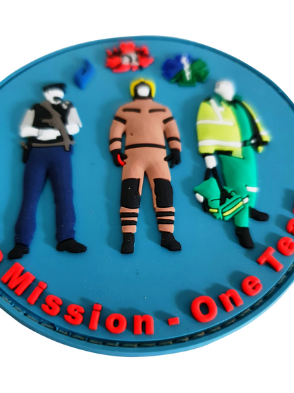 3D PVC patch 'ONE MISSION - ONE TEAM'
