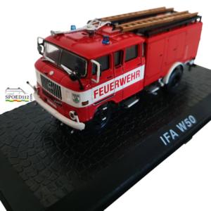 Schaalmodel 1:72 Brandweerwagen IFA W50