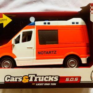 Duitse ambulance (Notarzt) kids-toy