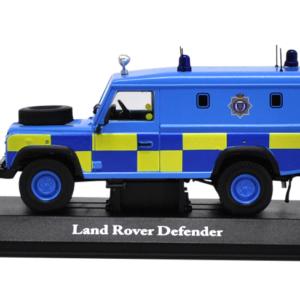 Schaalmodel 1/43 diecast Land Rover Defender UK Police