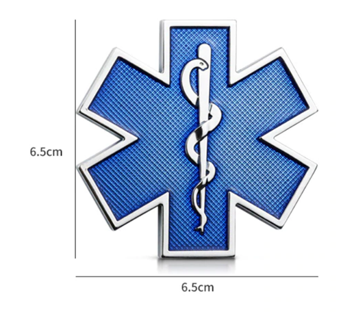 star of life sticker