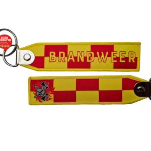 Sleutelhanger BRANDWEER | BATTENBURG + logo BW model 2021