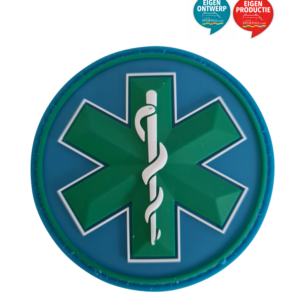 Star of Life patch groen