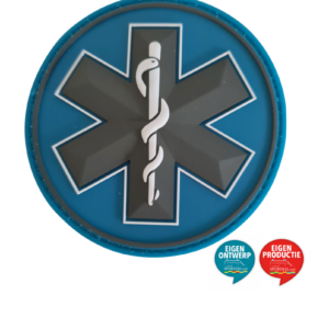 Star of Life patch grijs