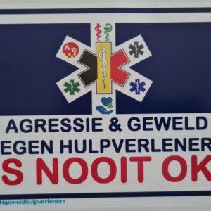 ambulance en brandweer sticker