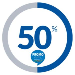 AFSCHEID wij verlaten het gamma aan -50%