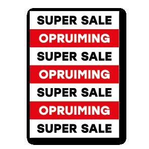 ACTIE: SUPERSALE OPRUIMING