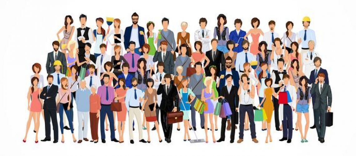 large-group-of-people-vector